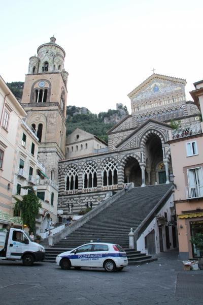 子連れ旅行 イタリア・アマルフィ アマルフィからナポリ・カポディキーノ空港までドライブ、帰国するのだ