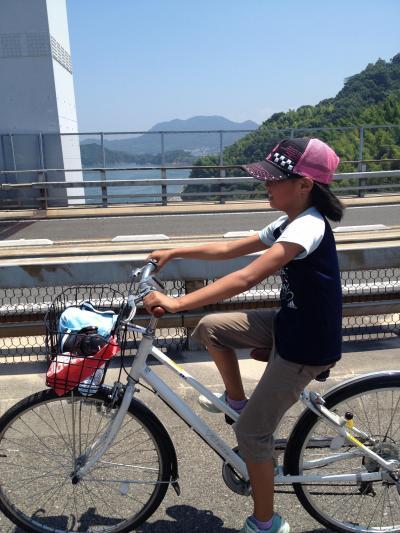 しまなみ海道は自転車に乗ってPart2【娘と二人編】