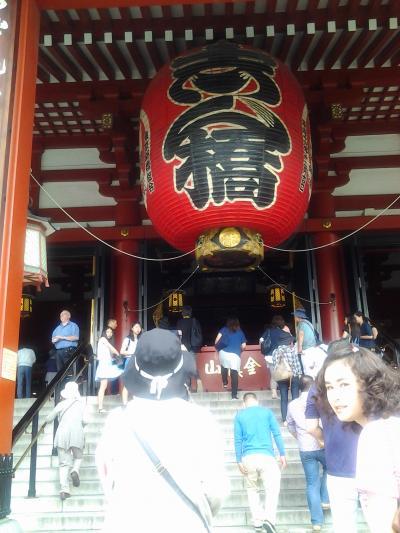 久しぶりの東京旅行。そして、初めての、はとバスツアー