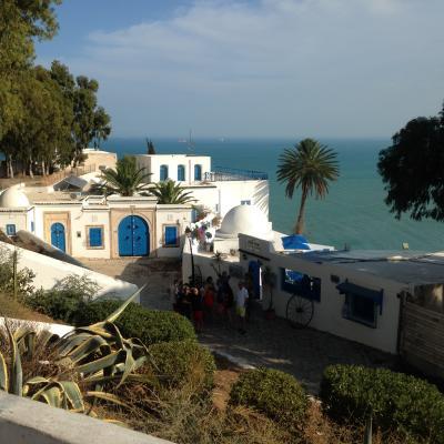 平和な頃のチュニジア