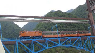 立山黒部アルペンルートの旅(28) 昼食後は、宇奈月温泉駅で発車までのフリータイム。