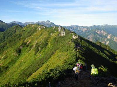 稜線に萌え萌え~(*´▽`*) 槍ヶ岳を眺めながらの縦走@北アルプス