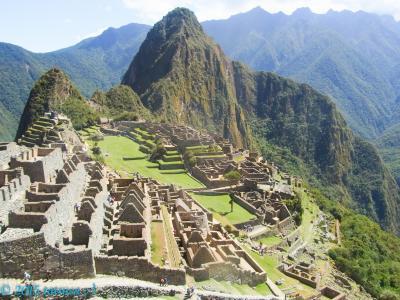 マチュピチュ 遺跡+「太陽の門」絶景ハイキング 南米周遊その3