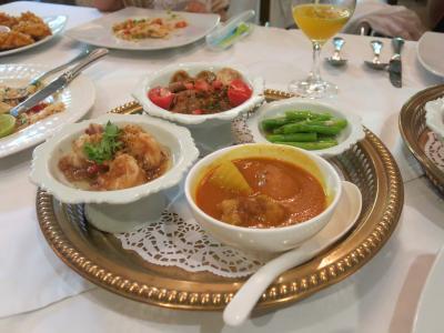 2015年夏休みの旅行は2度目の子連れ海外旅行でタイ・バンコク⑥~プールに入ったり宮廷料理を食べたり編~