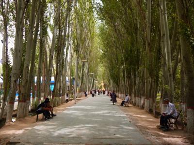 シルクロード再び13▲カシュガルの街と村歩き