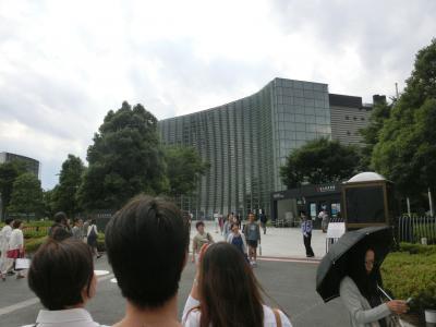 六本木界隈でアートとグルメ散歩(2015年6月)