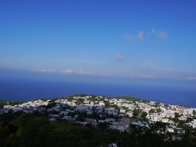 カプリ島 青の洞窟とモンテソラーロ・アマルフィ海岸Ravelloの旅