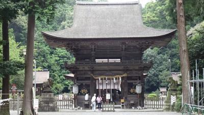 湖東・湖北・若狭・丹波の庭園紀行(03) 御上神社の参拝。