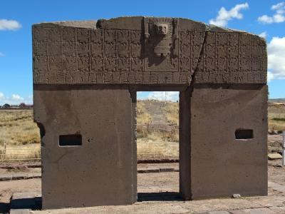 ラパスへ 世界遺産ティワナク遺跡