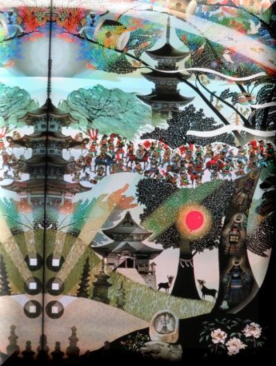 長野県 鹿教湯温泉 から 茶臼山動物園・上田祭り へ 3日目