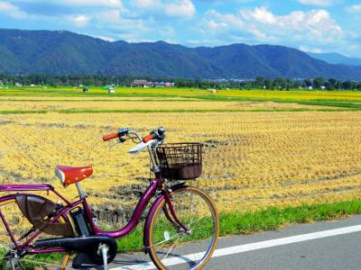 弾丸☆信州・女1人旅!~初秋の安曇野サイクリング~