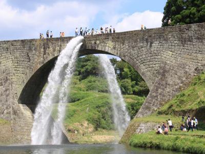 熊本プチ旅 通潤橋の放水編 3−1