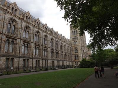 緑豊かな自然歴史博物館 ロンドン子連れ旅・後半戦