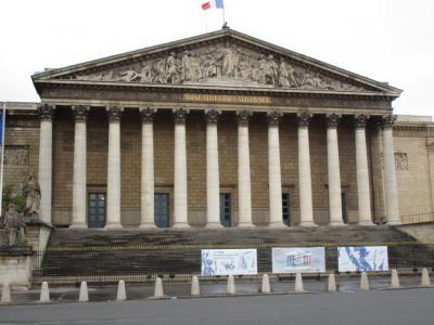 <ヨーロッパ文化遺産の日 2015年> フランス国会議事堂 見学