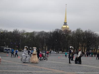2015GW ヘルシンキ~サンクトペテルブルク~タリン 一人旅 <5日目 サンクトペテルブルク~タリン>
