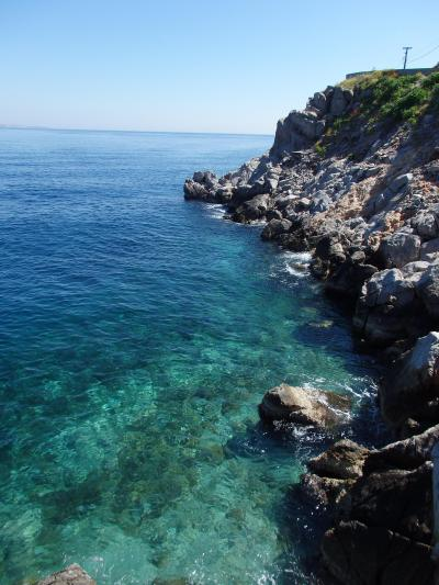 紺碧のエーゲ海に浮かぶ島々を訪ねて 【54】 イドラ島へ上陸♪綺麗な海にウットリ~