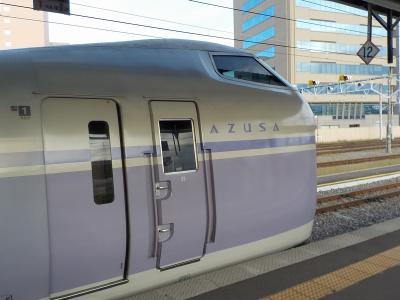 北陸新幹線かがやきで行く、リゾートビューふるさとと、スーパーあずさの旅 <南小谷⇒新宿編> 完