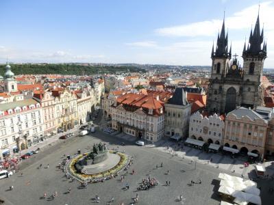 ドイツ・中央ヨーロッパ世界遺産の旅6(プラハ観光編)