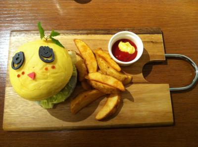 ふなっしーカフェin渋谷PARCO