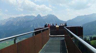 Tiroler Zugspitz Arena で滞在型のんびりハイキングの旅 ⑭ 最後のハイキング Plattformへ