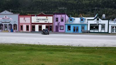 オーロラとツンドラ紅葉を求めて極北の大地ユーコンを行く (5)ゴールドラッシュに沸いた北米最後のフロンティア、ドーソンシティ編