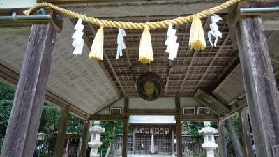 湖東・湖北・若狭・丹波の庭園紀行(47) 唐崎神社参拝。