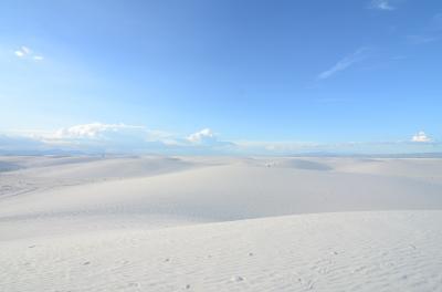 2015年7月 ニューメキシコの旅 第3弾 ホワイトサンズ・ナショナルモニュメント