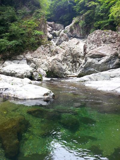 2015年6月、みたらい渓谷と天川村。雨雲すり抜け、さっくり日帰りお出かけ。