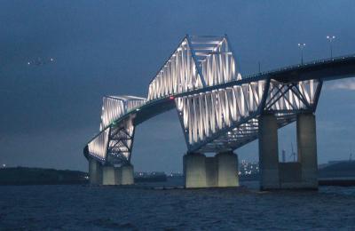 東京ゲートブリッジとアクセス18万件