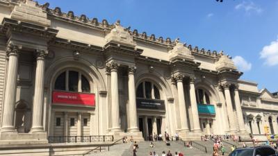 西回りで弾丸ニューヨーク1、美術館や博物館を巡る(復路のドバイコネクト付)。