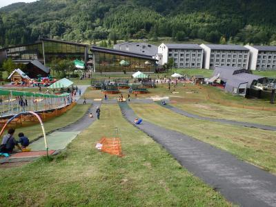 [2015年09月] 長野、シルバーウィークは斑尾高原、夏のスキー場はグリーンシーズンと言うらしい