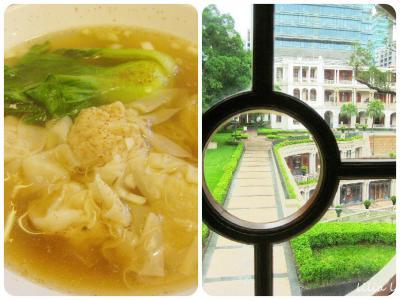 香港マカオ2泊4日女子旅(4日目-2)1881HERITAGE、輕鬆一下でエビワンタン麺、スーパー、帰国、お土産