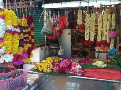 シンガポール リトル・インディア マーケットへ~周辺散策⑦