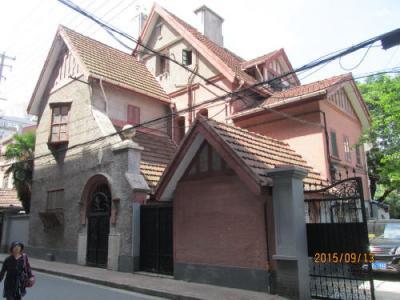 上海日本租界の黄渡路・歴史建築