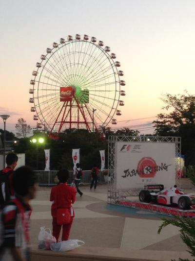 F1GP in JAPAN