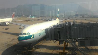はじめてのインドネシア&いつものフィリピン④CX532便香港~名古屋ビジネスクラス搭乗記