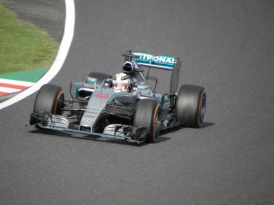 2015年9月 F1日本GP(鈴鹿) 日曜日 決勝