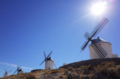 スペイン周遊 その3 トレド~コンスエグラ編 ドン・キホーテの舞台、白い風車を見に