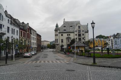 2015.8ノルウエーフィヨルドドライブ1771km 8-Radisson Blu Aalesund,Aalesundの街歩き1