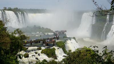 2度目のイグアスもやっぱり素晴らしかった(ブラジル側と三国国境+BP) -ビジネスクラスで行く地球一周★の旅- 【Brazil・Iguazu】