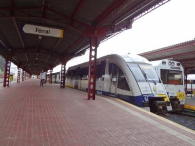 2013年スペイン旅行記 第16回 スペイン狭軌鉄道(Feve)のトランスカンタブリコ線でフェロールからオビエドへ 前編