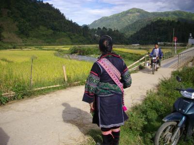 2日目 午後 ラオカイから  赤ザオ族・TA PHIN村(タフィン)  そしてSAPAへ
