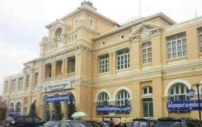 カンボジアの郵政