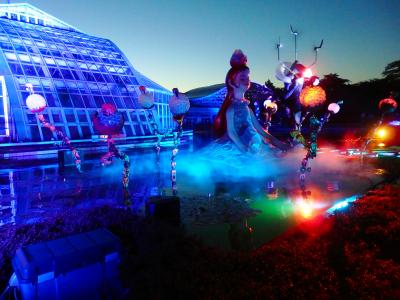 Entertainment show at the 京都府立植物園