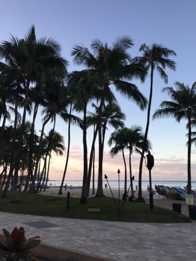 2015年10月Hawaii vol.1~出発、アウトリガーワイキキオンザビーチ~