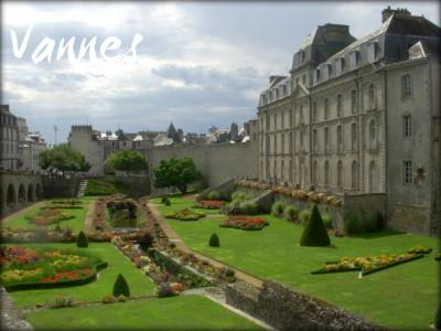 花の城壁古都ヴァンヌ 両親とフランス その9