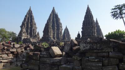 15年7月~初めてのインドネシア●6 プランバナン遺跡群と、ちょこっとジャカルタ