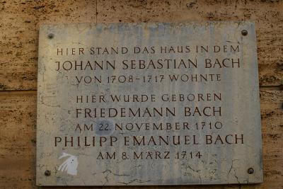 ヨハン・セバスティアン・バッハの足跡を訪ねて その7 大家への道、ワイマール