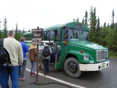 2回目のアラスカ 2015夏:08/10(Day5)::バスに揺られてカンティシュナへ