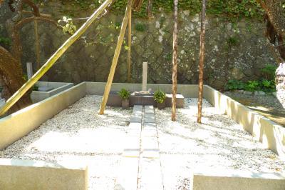 島崎藤村の墓(地福寺)